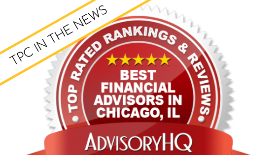 Best Financial Advisors Award from AdvisoryHQ